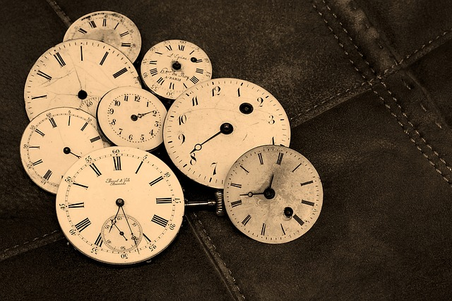 Watches, Old, Antique, Time Indicating, Wind Up