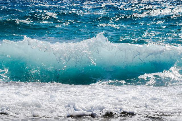Wave, Smashing, Foam, Spray, Sea, Nature, Wind, Power