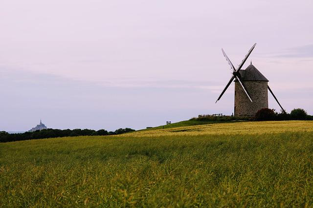 Windmill, Farm, Agriculture, Wind, Landscape, Nature