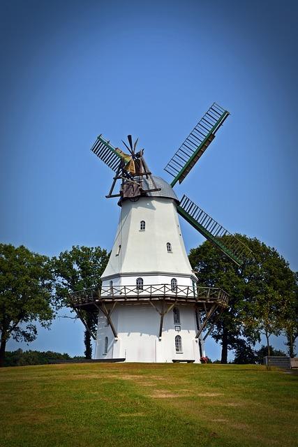 Mill, Windmill, Spengeler Mill, Lower Saxony, Windräder