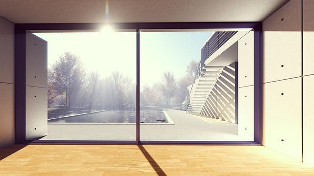 Window, Indoors, Empty, Architecture, Fair Weather
