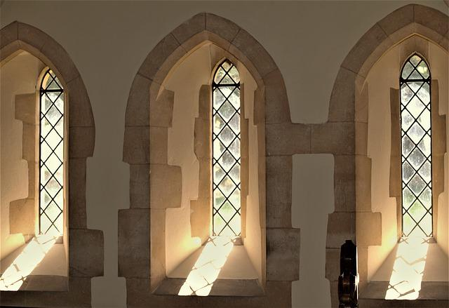 Architecture, Window, Church, Inside, Arch