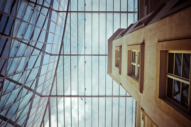 Architecture, Glass, Window, Building, Sky, City, Urban