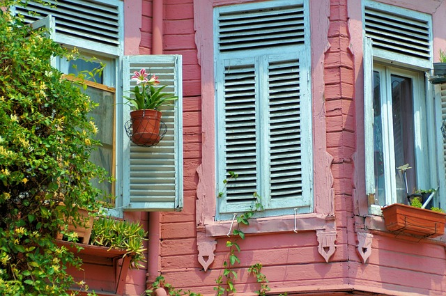 Window, Pink, Home