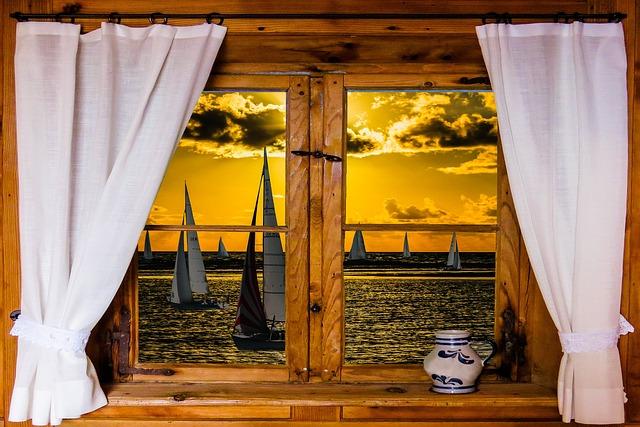 Architecture, Window, Nature, Landscape, Outlook