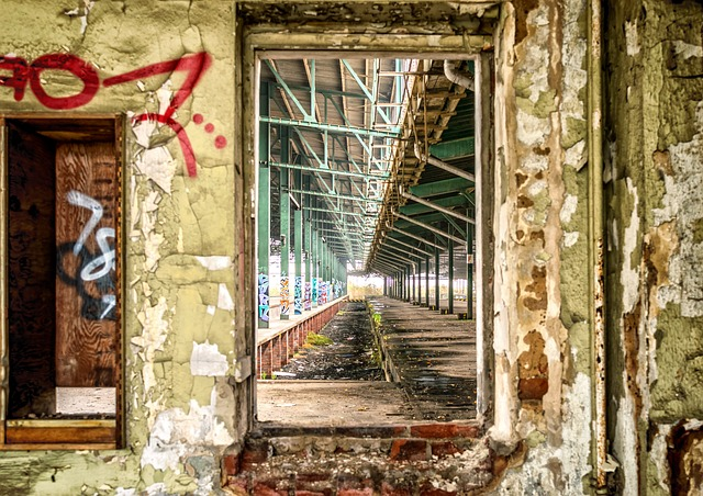 Lost Places, Window, Atmosphere, Railway Station
