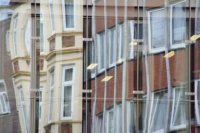 Mirroring, Facade, Building, Architecture, Window