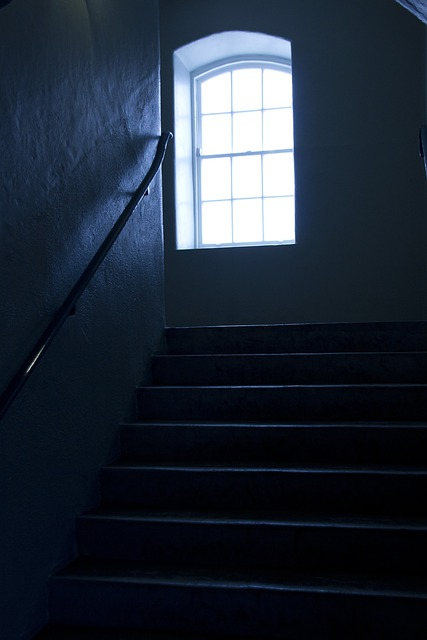 Window, Stairs, Dublin, Collins Barracks, Museum