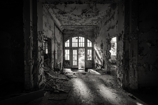 Leave, Nervous, Architecture, Darkness, Window, Within
