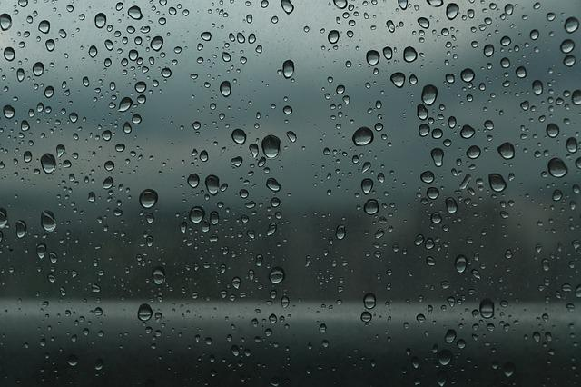 Trickle, Non, Cloud, Raindrops, A Rainy Day, Window