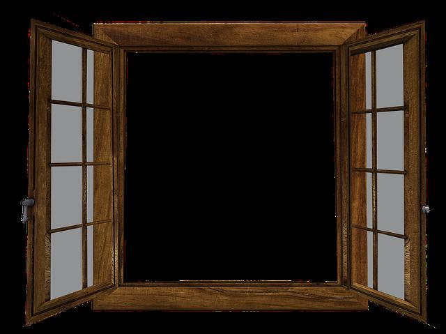 Window, Open, Window Glass, Outlook, Image Editing