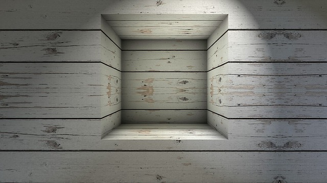 Window, Niche, Wall, Boards, Texture, Background