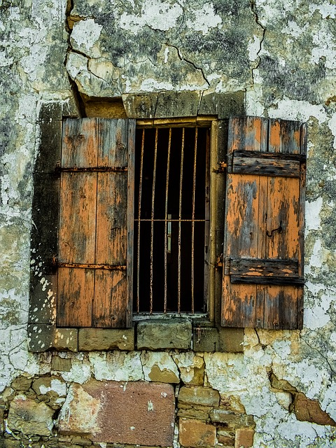 Window, Old, Weathered, Aged, Damaged, Wall