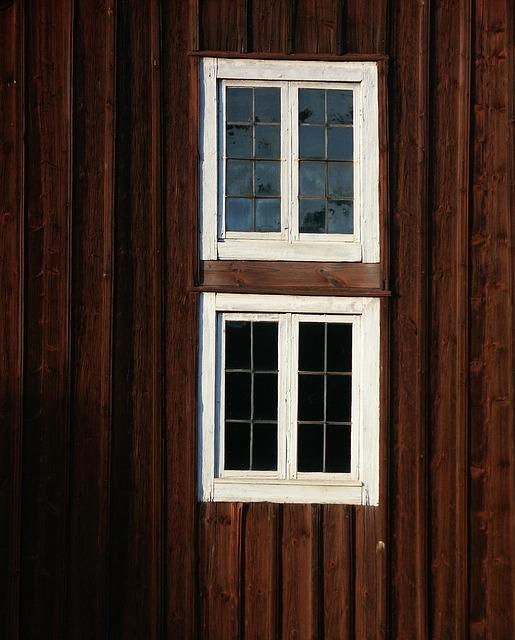 Window, Facade, Wooden Fascia, Wooden Building