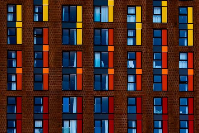 Architecture, Color, Colour, Windows, Brick Wall