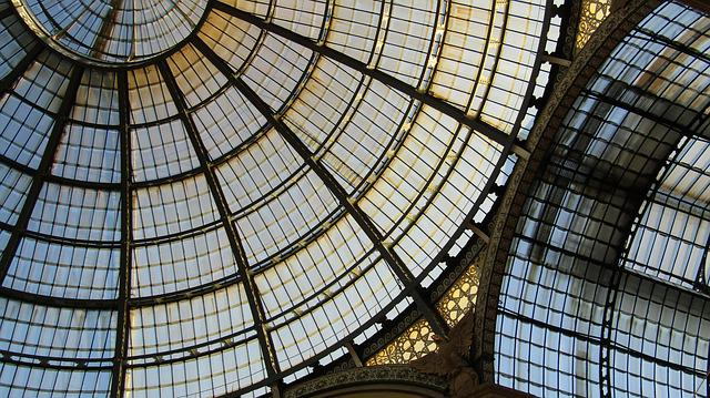 Glass, Ceiling, Structure, Windows, Architecture
