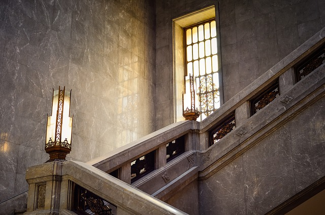 Building, Gorgeous, Indoor, Stairs, Landscape, Windows