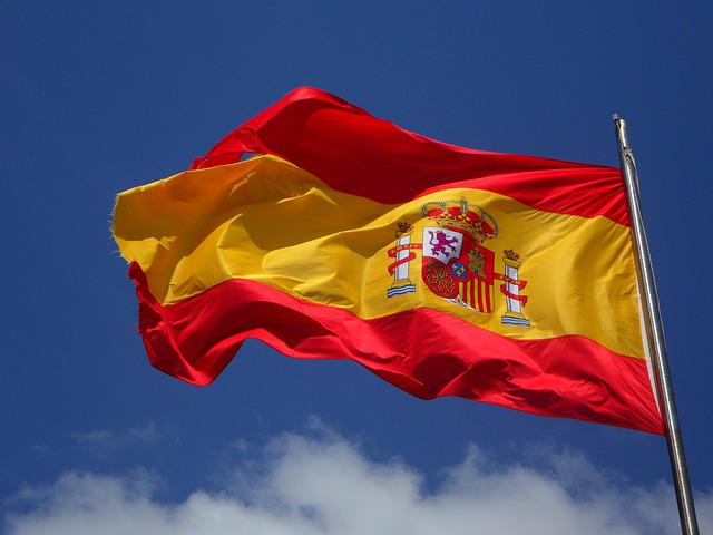 Spain, Flag, Flutter, Spanish, Cabrera, Wind, Windy