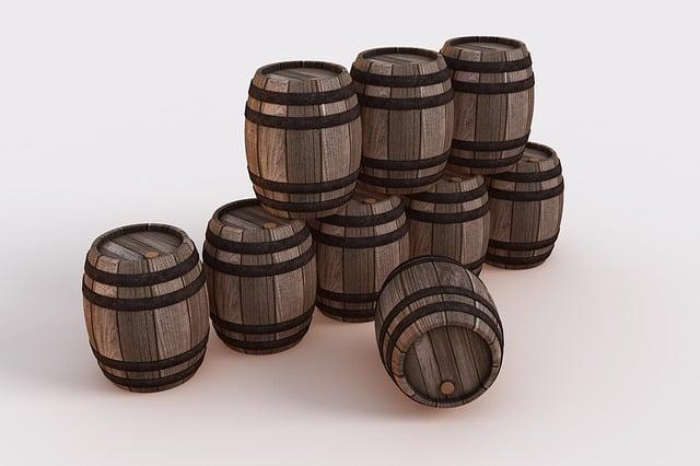 Barrels, Wine Barrels, Old, Vintage, Wood, Wooden