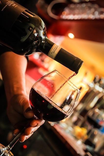 Wine, Glass, Bottle, Restaurant, Italians, Berlin