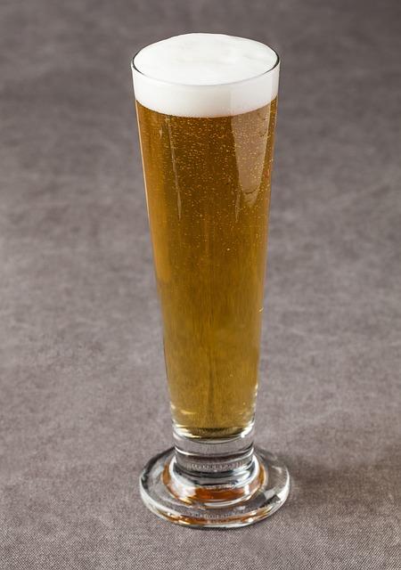 Beer, Wine Glass, Cold Beer, Foam