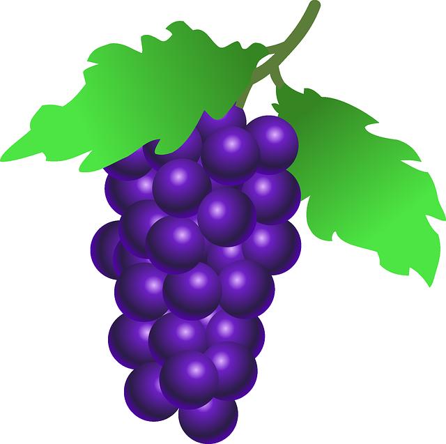 Grapes, Fruit, Food, Wine, Plant, Vine, Leaves, Organic