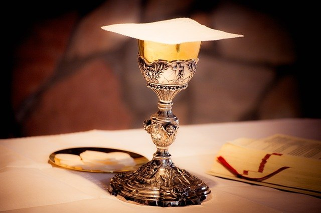 Chalice, Wine, Prayer, Mass, Communion, Religion