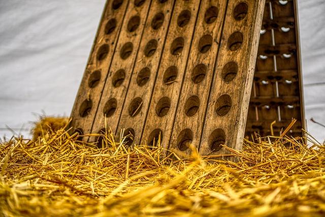 Wine Rack, Wood, Straw, Decoration, Marquee, Shelf