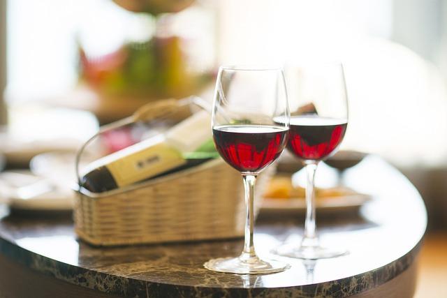 Wine, Red, Dinner, Hotel, Holiday, Celebration, Happy