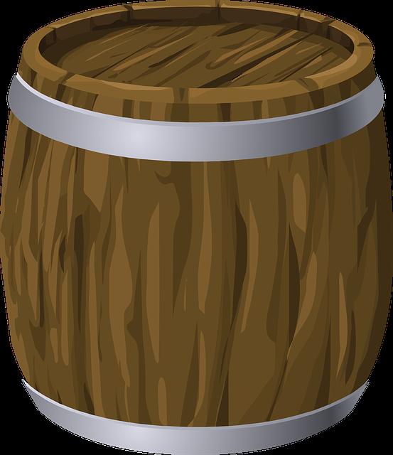Barrel, Keg, Wood, Vintage, Wooden, Winery, Cellar