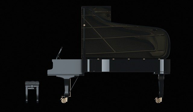 Piano, Wing, Classic, Instrument, Keyboard Instrument