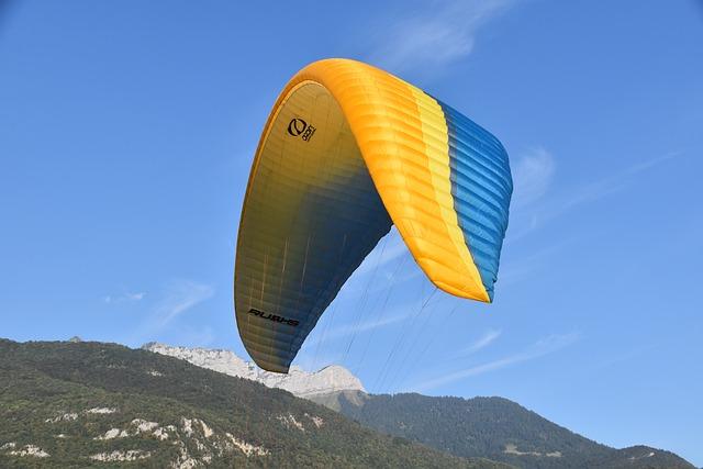Sailing, Paraglider, Wing Ozone 5 Ruch, Aircraft