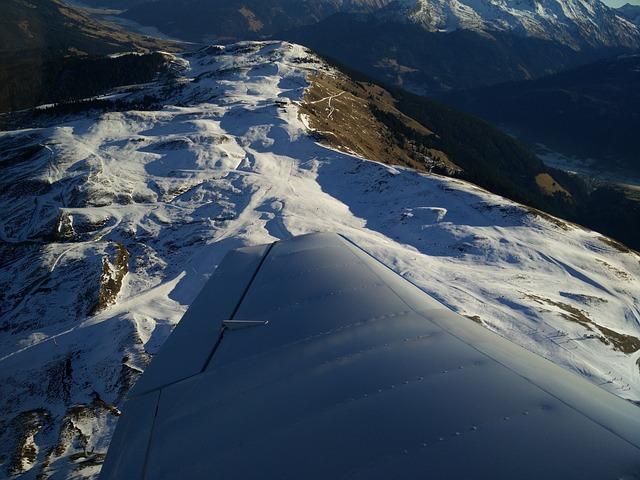 Snow, Runway, Wing, Aircraft, Winter