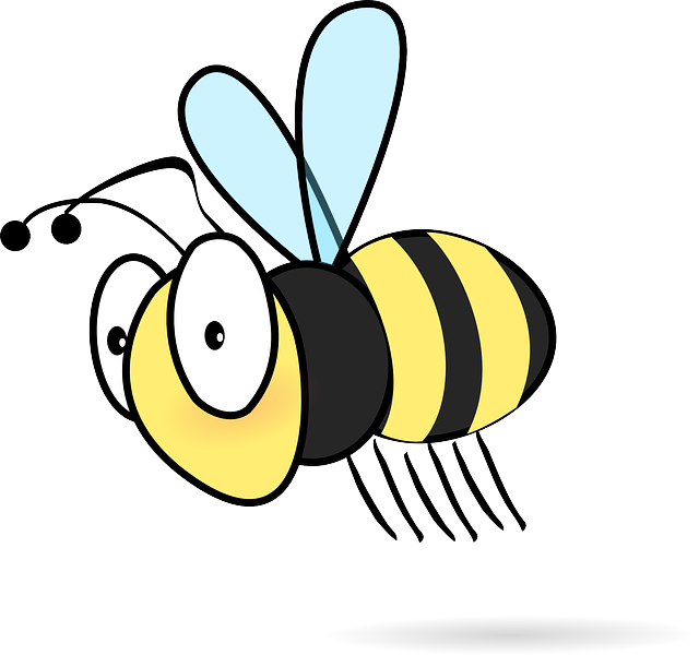 Bee, Insect, Cartoon, Honey Bee, Flying, Wings