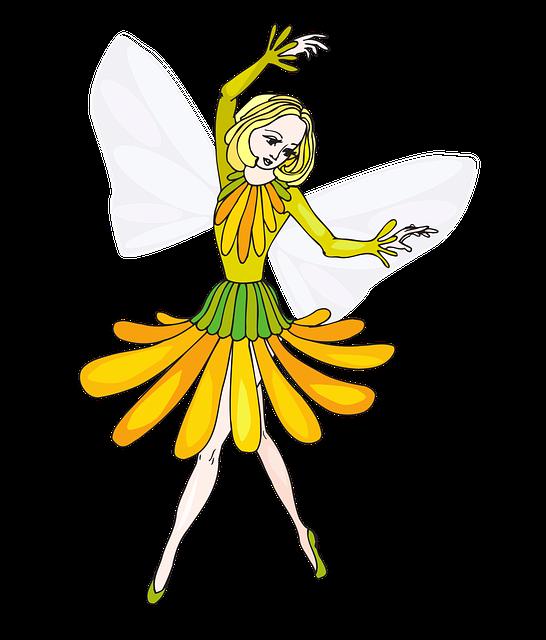 Fairy, Flower, Girl, Wings, Fantasy, Cute, Kids