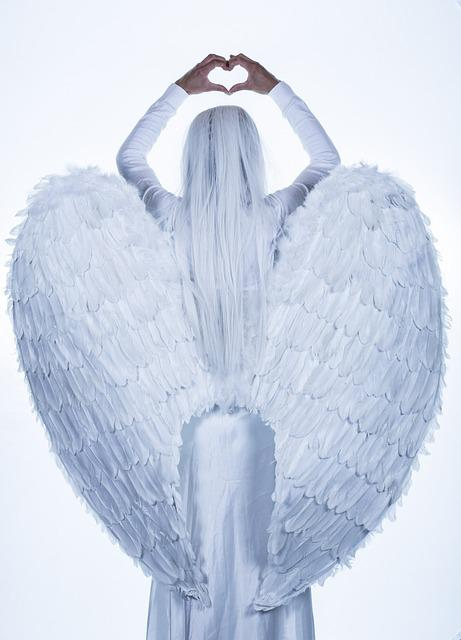 Angel, Wings, Girl, Woman