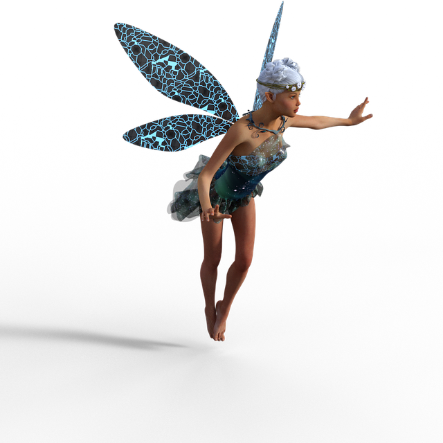 Fairy, Isolated, Transparent Background, Fantasy, Wings