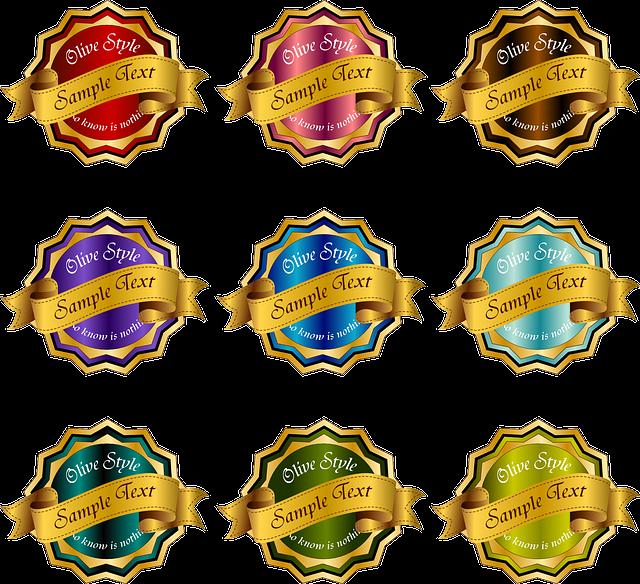 Emblem, Award, Badge, Accolade, Ribbon, Prize, Winner