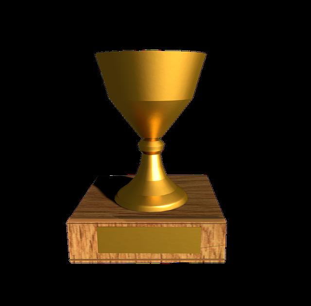 Cup, Trophy, Winner, Gold, Champion, Profit, Award