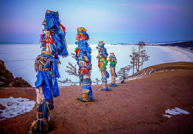 Shamanism, Spirituality, Shaman, Baikal, Russia, Winter