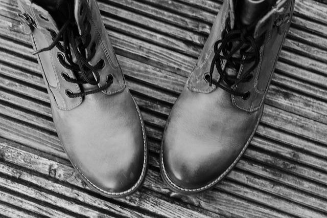 Shoes, Black White, Winter Boots, Leather Boots, Boots