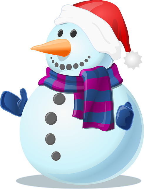 Snow, Snowman, Cold, Winter, Frozen, Gloves, Scarf
