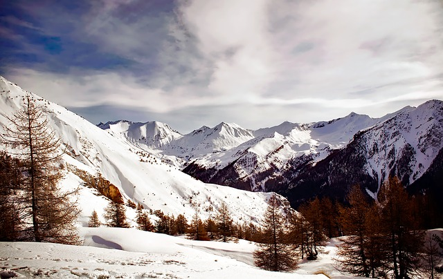 France, Landscape, Scenic, Winter, Snow, Mountains