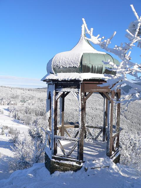 Winter, Snow, View, Frost, Landscape