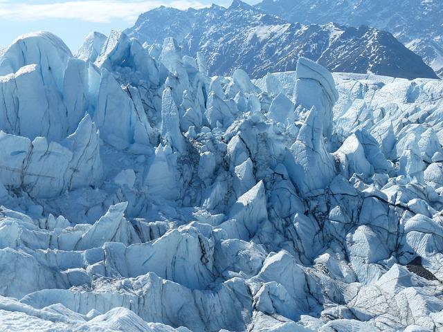 Glacier, Ice, Nature, Blue, Alaska, Winter, Outdoor