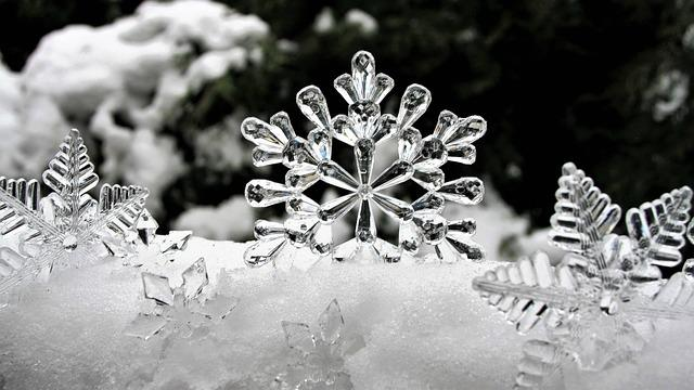 Ice, Stars, Winter, Snow, The Reflection Of Light, Biel