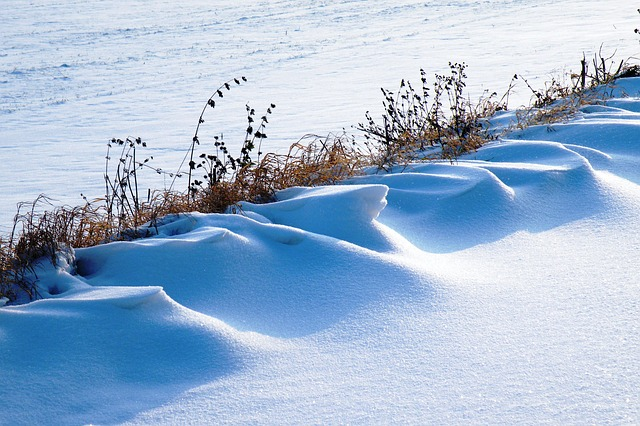 Snowdrifts, Winter Impressions, Wintry, Snow, Cold