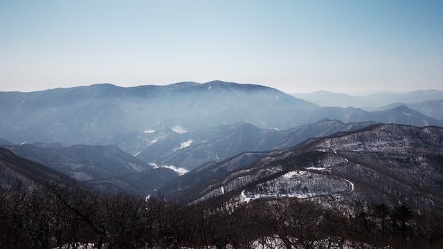 Hambaeksan, Snow, In The Cold, Climbing, Winter