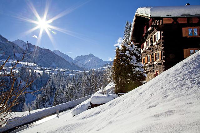 Winter, Kleinwalsertal, Landscape