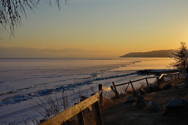 Baikal, Lake, Landscape, Winter